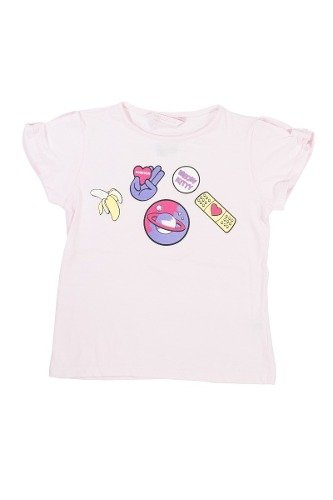 Remera Nucleo Nena Relieve Curita Regalosdemama