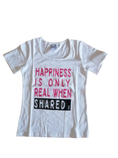1000- Remera m/c Hapiness - comprar online