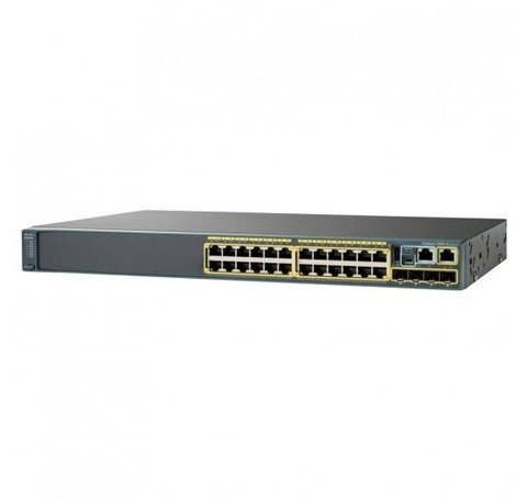 Cisco Switch Catalyst 2960-X com 24 portas 10/100/1000Mbps RJ45