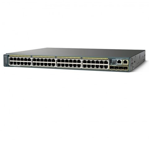Cisco Switch Catalyst 2960-X com 48 portas PoE 10/100/1000Mbps RJ45