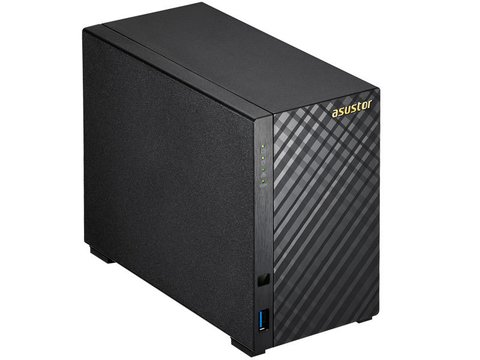 Sistemas de backup NAS ASUSTOR AS1002T RACK 2 BAIAS SEM DISCO - Magnet Smart Solutions