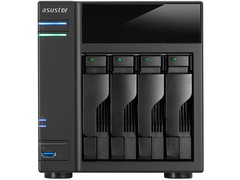 Sistemas de backup NAS ASUSTOR AS6104T RACK 2 BAIAS SEM DISCO - comprar online