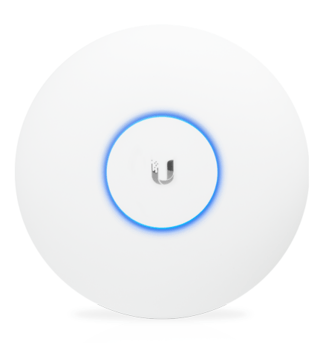 Access Point Ubiquiti UniFi UAP-AC-PRO 450Mbps • 1300Mbps• 2 portas • 122 metros