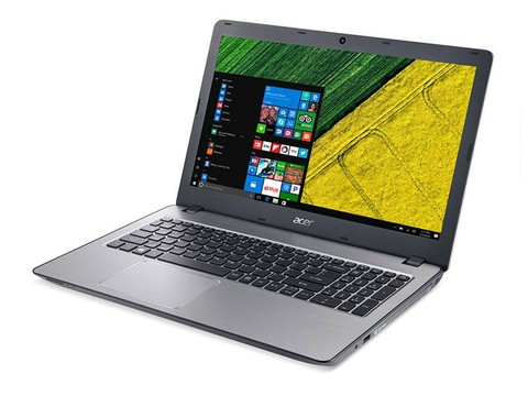 Notebook Inter Acer CORE I5 7200U KABYLAKE 8GB DDR4 1TB WIN10 15.6 LED USB 3.1 HDMI Prata com NVIDIA GFORCE 940MX 2GB DDR5 - NXGJQAL004