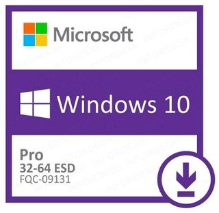 Windows Pro 10 32/64 ESD Download - FQC-09131
