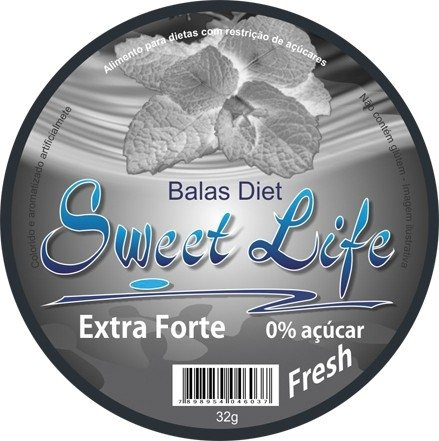 Bala Diet Sweet Life 32g na internet