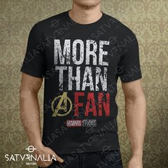 Remera Marvel More than a Fan