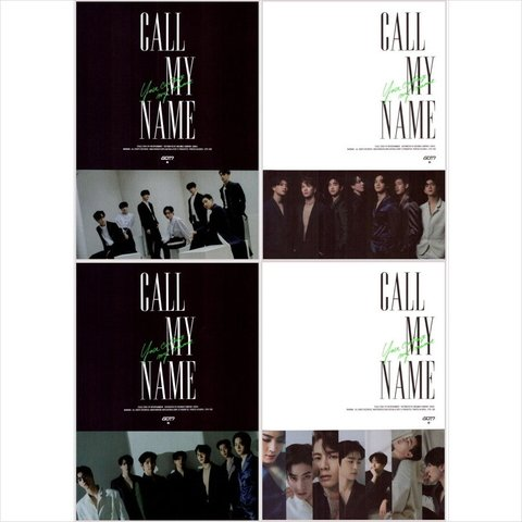 GOT7 - Call My Name - Mini album - Incluye poster oficial + Beneficios de pre-venta