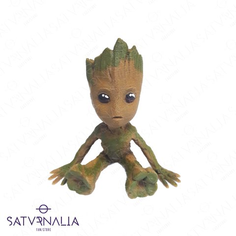 Figura mini de Baby Groot - Guardianes de la Galaxia
