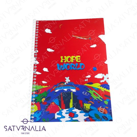 Cuaderno Hope World (J Hope) de BTS