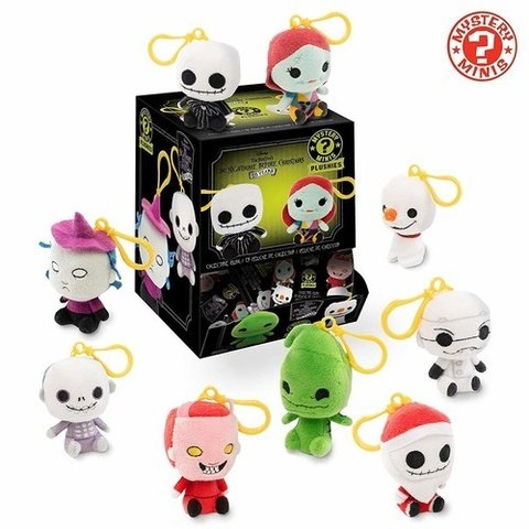 Funko Blindbag Keychain Mystery Mini Plush - The Nightmare Before Christmas