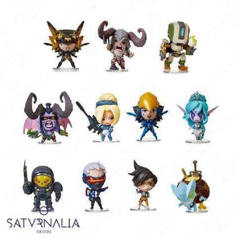 Figuras Cute but Deadly de Blizzard serie 2