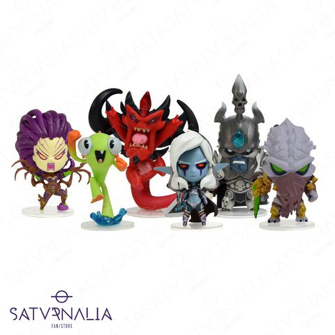 Figuras Cute but Deadly de Blizzard serie 1