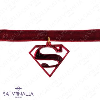 Choker Superman / Supergirl