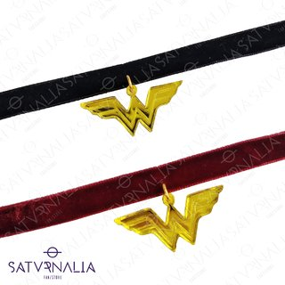 Choker Wonder Woman Amarillo