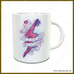 Taza porcelana Love leave its own mark - HARRY POTTER OFICIAL
