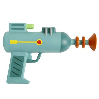 Foam Laser Gun - Rick and Morty