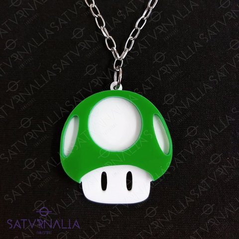 Collar Honguito verde - Super Mario Bros