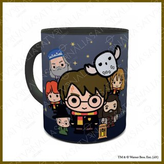 Taza Mágica Harry Potter Chibi - HARRY POTTER OFICIAL