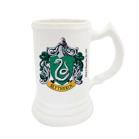 Chopp de cerámica de Slytherin - HARRY POTTER OFICIAL