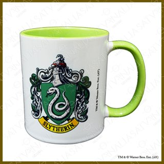 Taza Slytherin porcelana DELUXE - Harry Potter Oficial