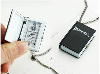 Reloj collar de Death Note