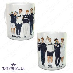 Taza porcelana BTS Candies