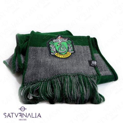 Bufanda rayada de Slytherin - HARRY POTTER OFICIAL