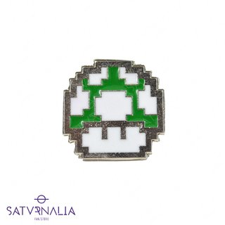 Pin Honguito Verde - Mario Bros