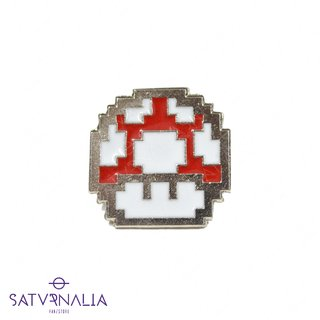 Pin Honguito Rojo - Mario Bros