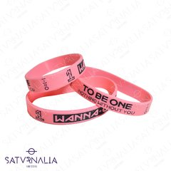 Pulsera de silicona de Wanna One