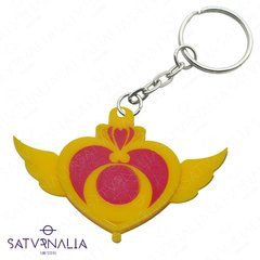 Llavero de broche Moon  Crisis de Sailor Moon