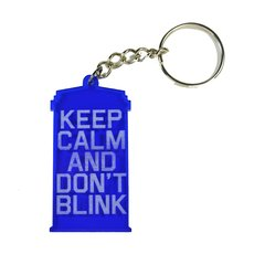 Llavero Keep calm and don't blink de Doctor Who