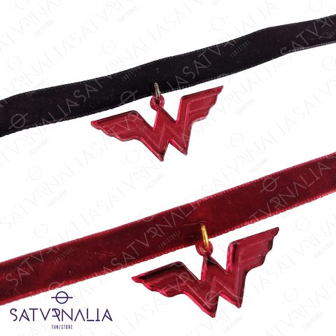 Choker Wonder Woman Rojo