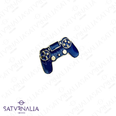 Pin Joystick azul