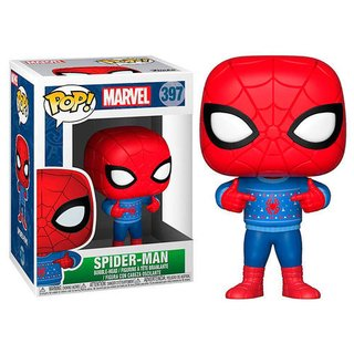 Funko POP - Spiderman navideño 397