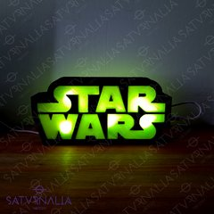 Lámpara logo Star Wars