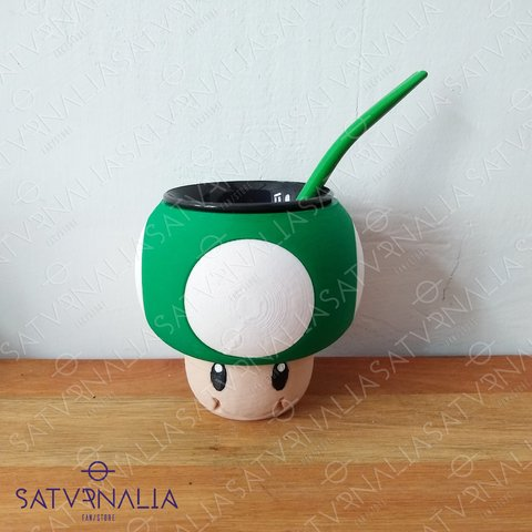 Mate Honguito Verde - Super Mario Bros