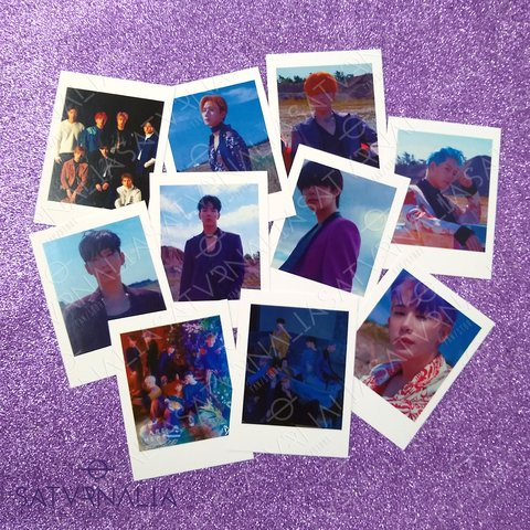 Pack polaroids Monsta X