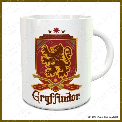Taza porcelana Gryffindor Quidditch - HARRY POTTER OFICIAL