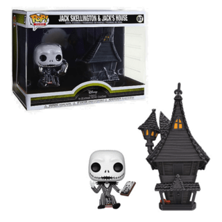 Funko POP Town - Nightmare Before Christmas - Jack Skellington with Jack's House