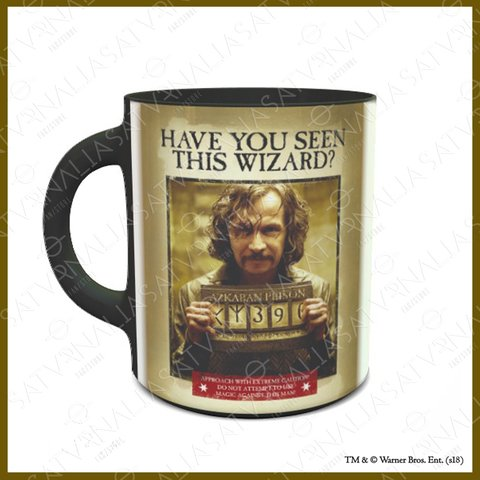Taza Mágica Sirius Black - HARRY POTTER OFICIAL