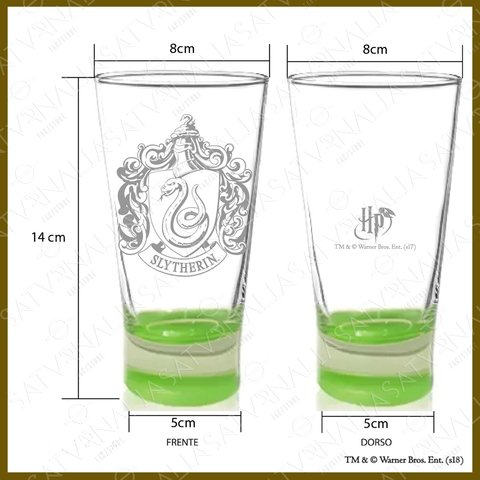 Vaso grabado de Slytherin - HARRY POTTER OFICIAL