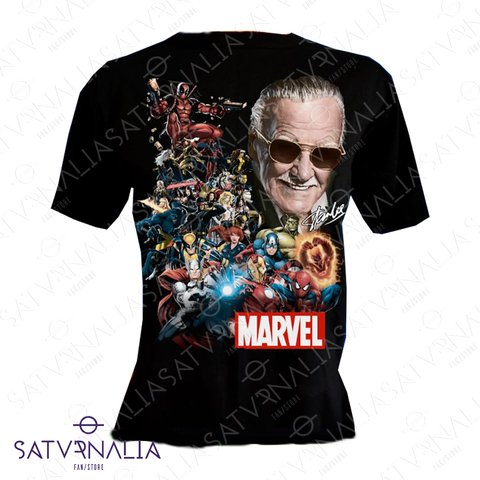 Remera Marvel Stan Lee
