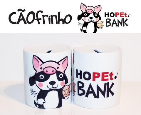 Cãofrinho Hopet Bank