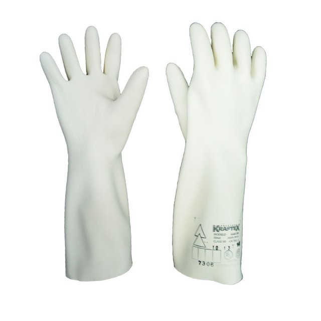 GUANTES DIELECTRICOS. KRAFTEX CLASE 00 CAT A ( 2500 V ) - comprar online