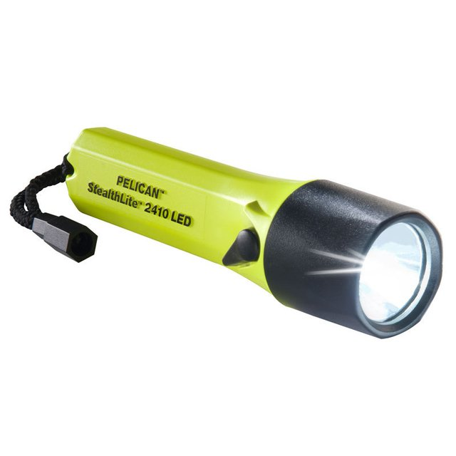 LINTERNA PELICAN 2410C 35MM STEALTHLITE LED YELLOW