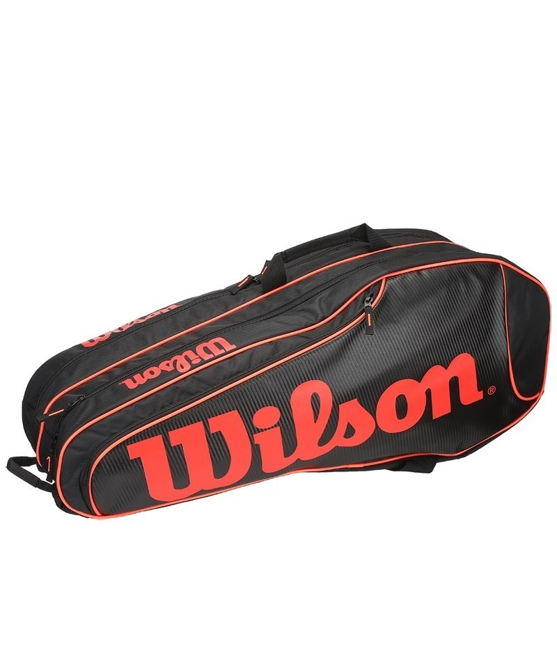 Raquetero Wilson Burn Team 6pk