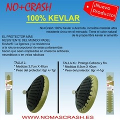 Protector paleta padel NO+CRASH (100% kevlar) - TennisHero e-shop