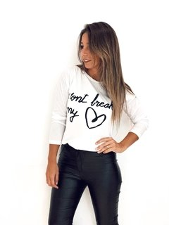 Remera cod 2146 dont break my heart - comprar online